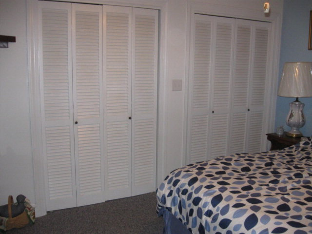 Double Closets in BR